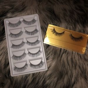 Bundle of lashes synthetic and Mink lashes